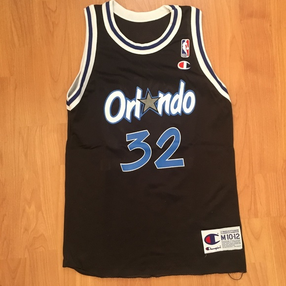 49fa7792f07 Champion Shirts & Tops | Vtg Shaquille Oneal Orlando Magic Jersey ...